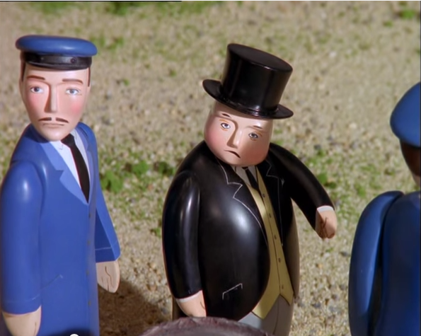 Image result for angry fat controller