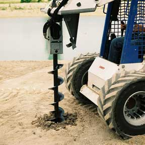 Skid Steer Auger Attachment8