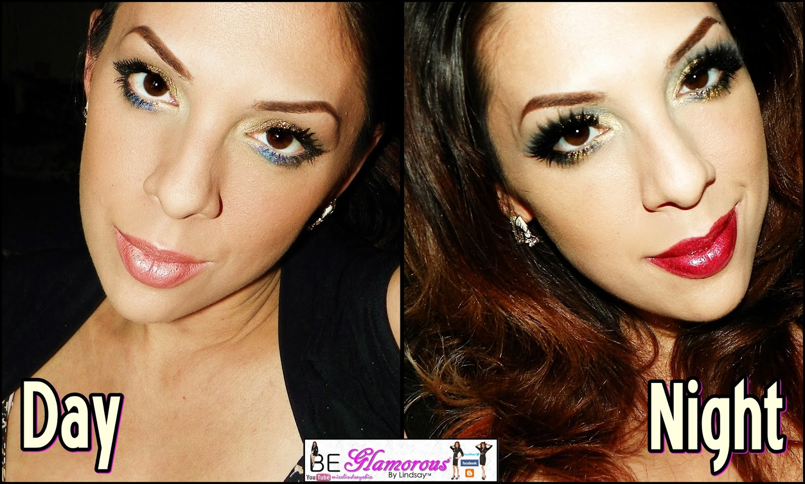Day to Night Makeup Tutorial ft. BH Cosmetics - YouTube