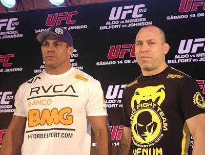 Vitor Belfort e Wanderlei Silva são os treinadores da edição brasileira (