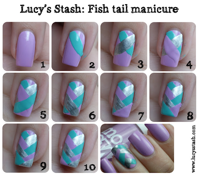 Lucy's Stash - Fishtail braid tutorial