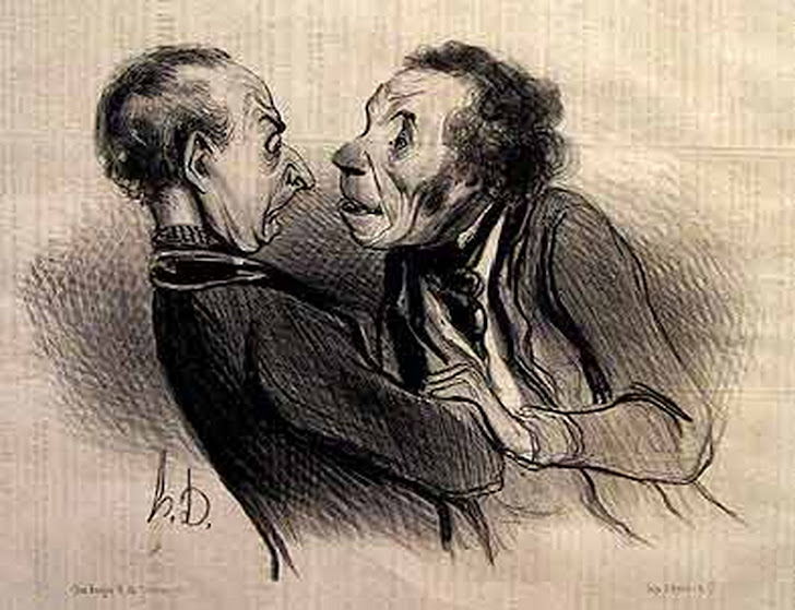 Caricature : Honoré Daumier