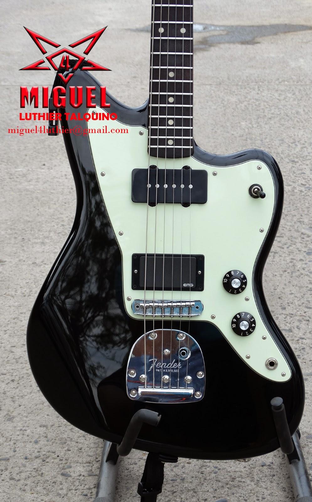 Luthier miguel4 talca modificaci n guitarra el ctrica for Luthier guitarra electrica
