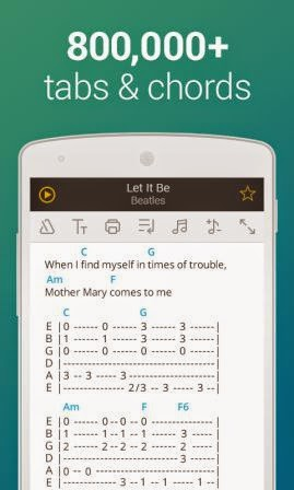 Ultimate Guitar Tabs Chords Apk