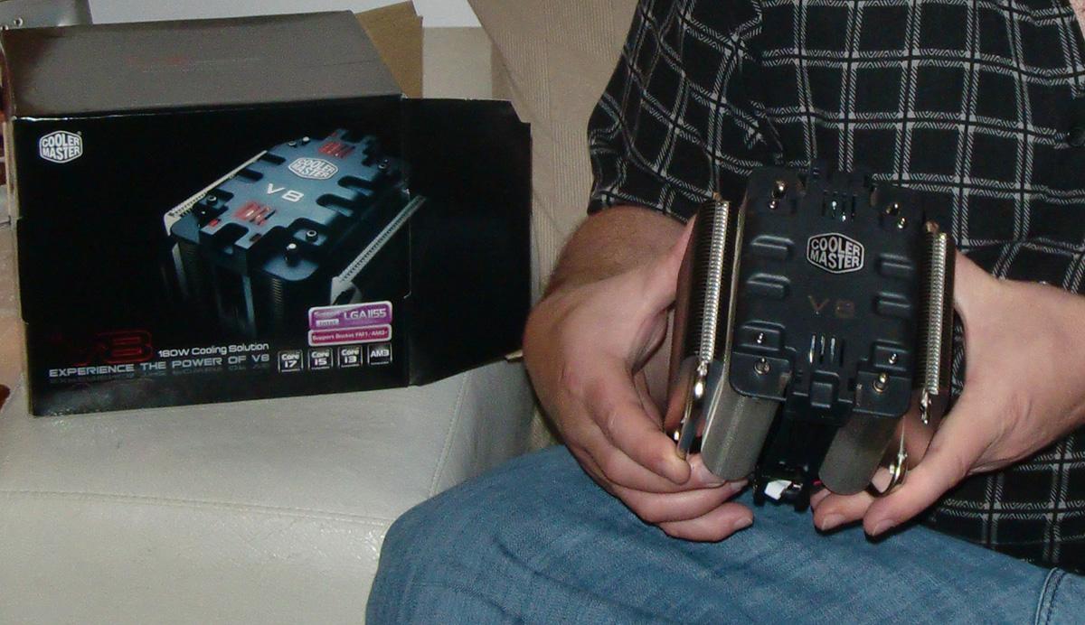 Cooler Master V8 CPU Fan (RR-UV8-XBU1-GP)