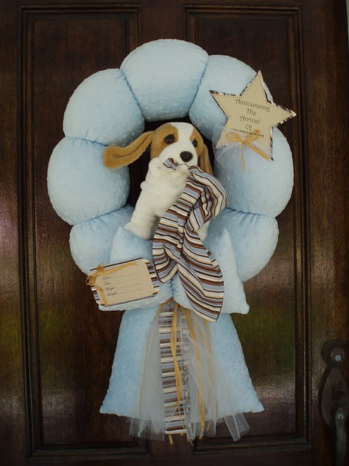 22. Hound Dog Wreath