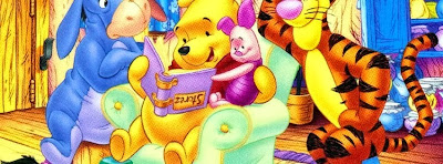 Photo de couverture facebook winnie the pooh