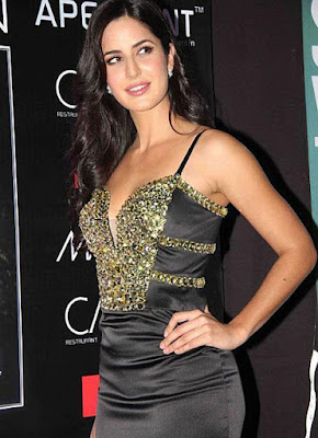 Sexy Bollywood Actress Katrina Kaif In Hot Exposed Dress Latest Stills