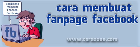 Cara membuat Fanspage | Halaman Facebook