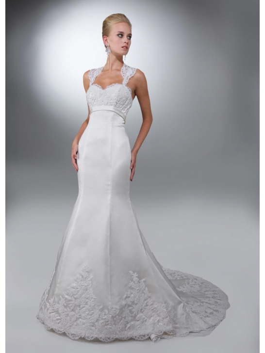 Mermaid Wedding Dress With Straps : Wedding dress business about spaghetti straps dresses