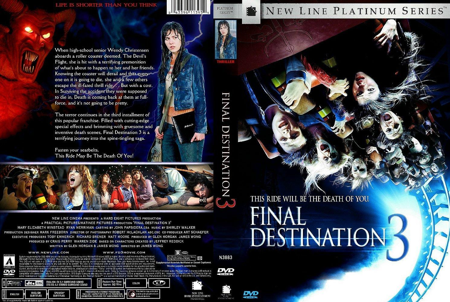 List Cellebrity Final Destination Movie