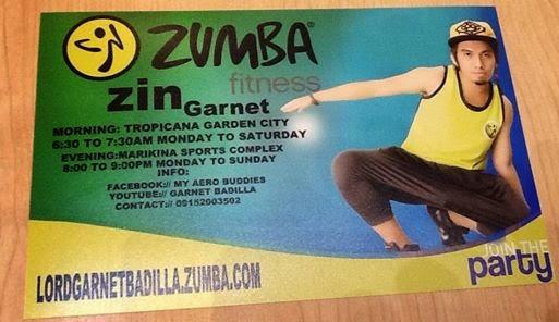 Zumba Fitness with ZIN Garnet