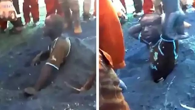 Ν. Αφρική: Τον ανάγκασαν να σκάψει τον τάφο του γιατί ήταν ύποπτος για... διαρρήξεις