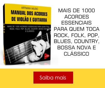 Manual dos Acordes de Violão e Guitarra