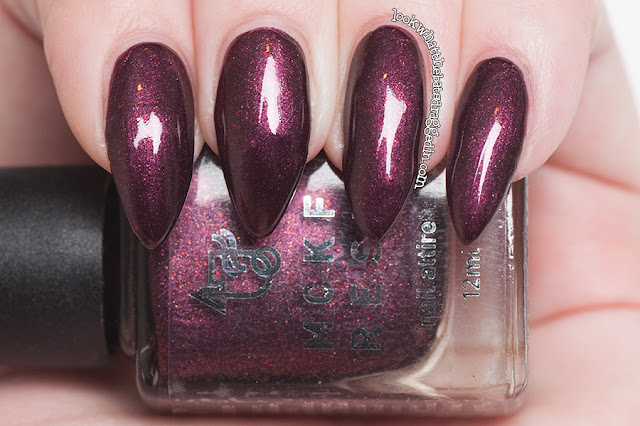 MckFresh Nail Attire The Sunnydale Buffy colletion nail polish Angel Buffy Giles Oz Willow Xander Spike swatch review