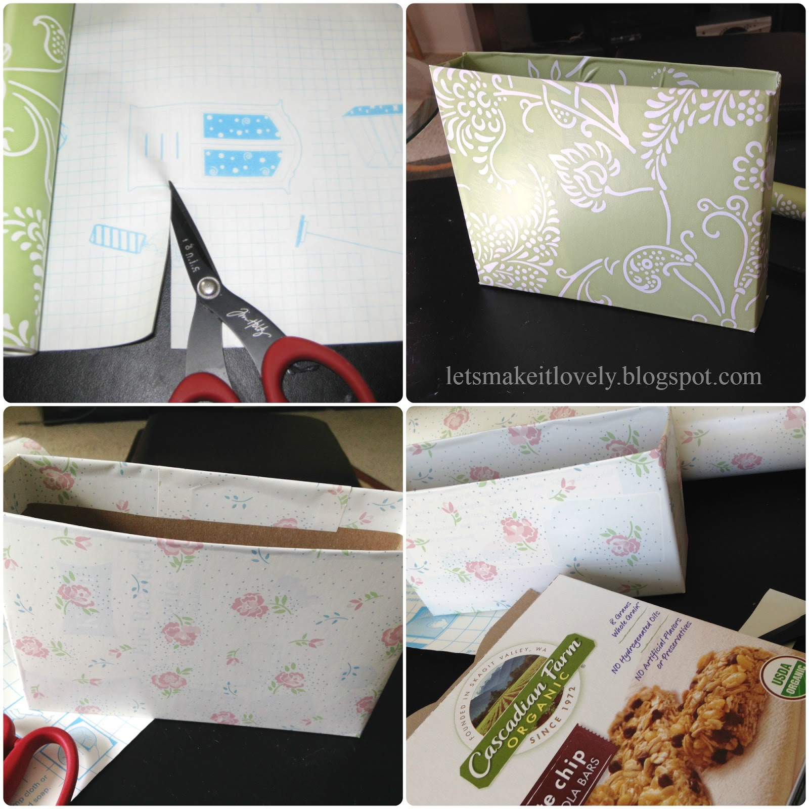 Reuse Cereal Boxes