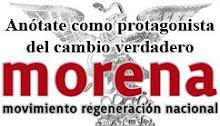 Únete a MORENA!!!