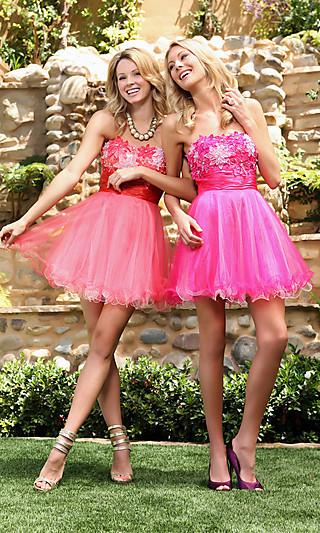 Більше фото красивих коротких платтів