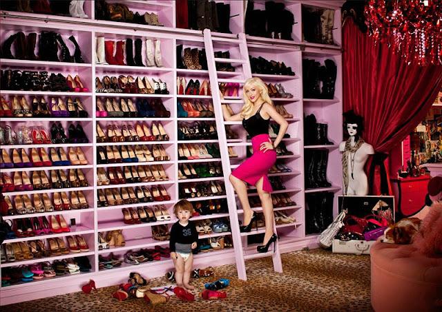 Custom Sneaker Closet Celebrity Shoe Closets