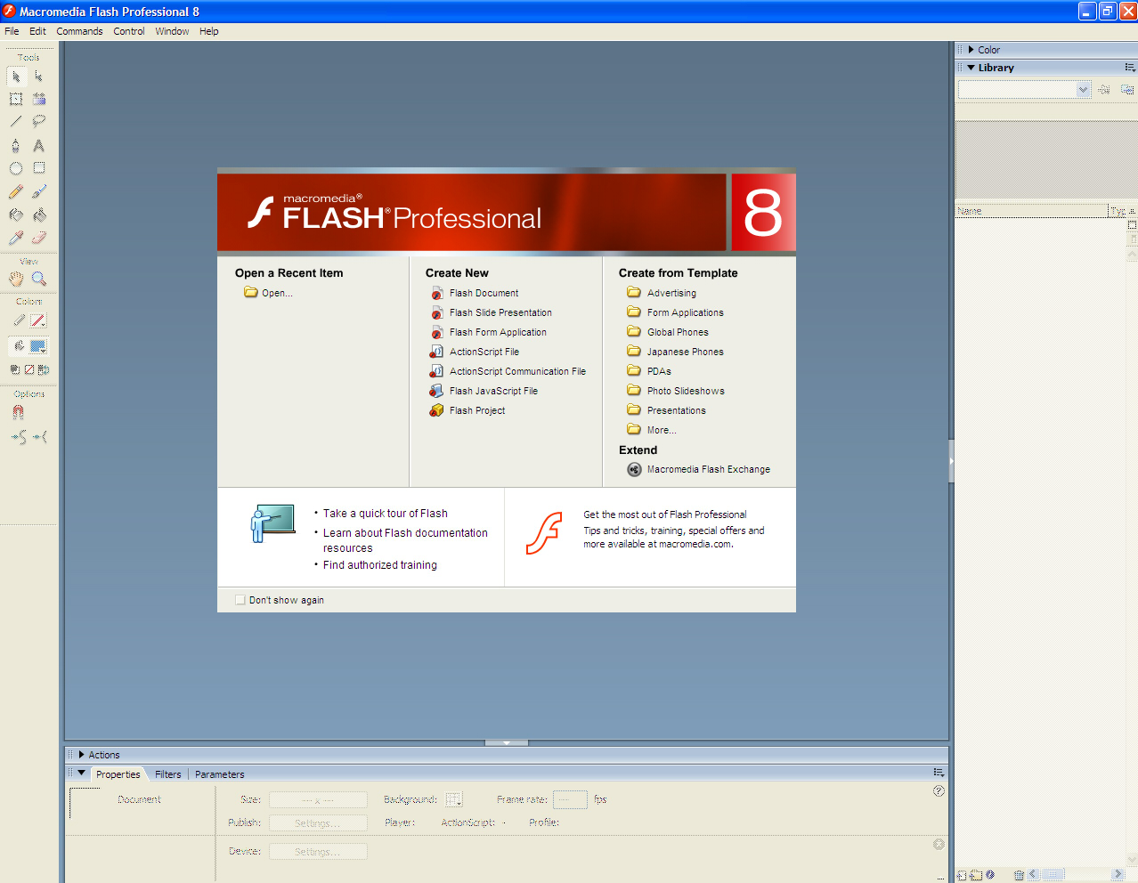 Компьютерная анимация: курс по macromedia flash