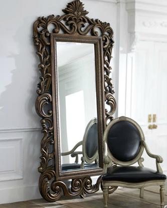 Wanted floor length mirror honey we 39 re home for Fancy floor mirrors