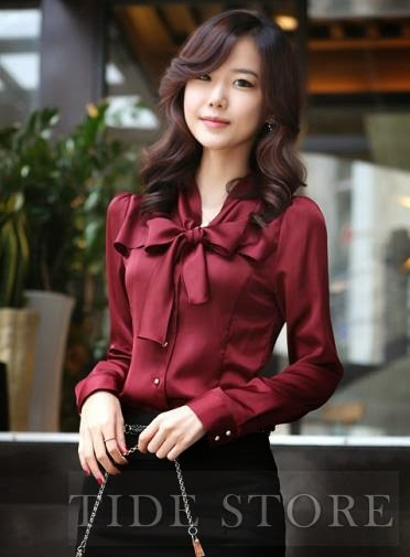 http://www.tidestore.com/product/Elegant-Long-Sleeve-Pure-Color-Bowknot-Shirt-10921429.html