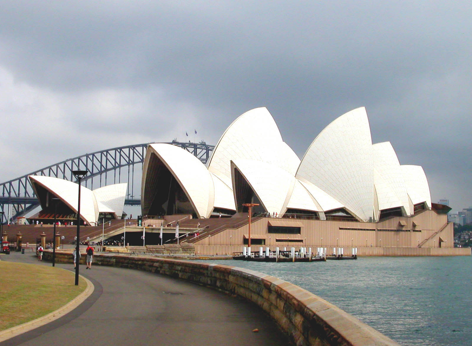 Opera house sydney australia world beautiful landmarks for Sydney opera housse