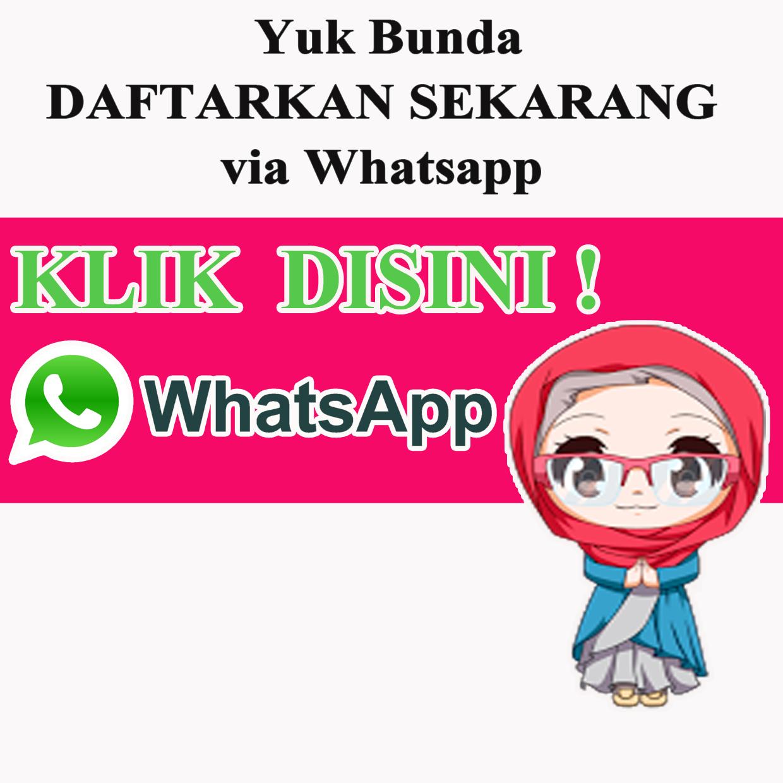 Yuk Daftar Via Whatsapp