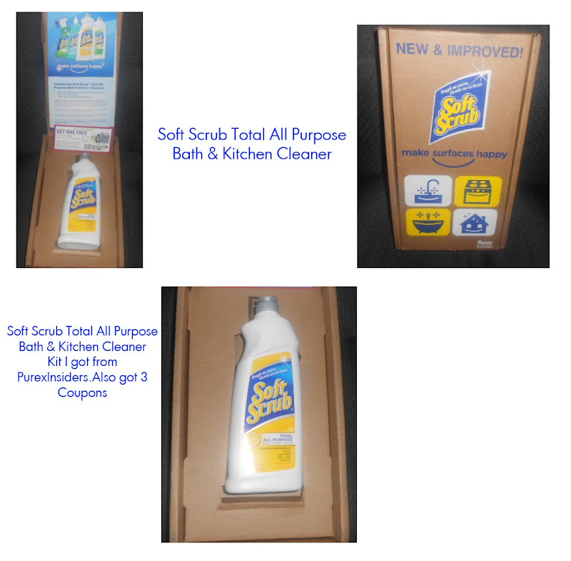 Soft Scrub Total All Purpose Bath & Kitchen Cleaner title=