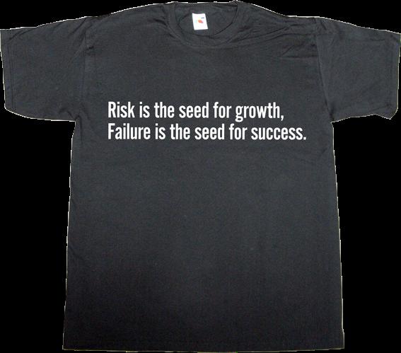 brilliant sentence autobombing success failure t-shirt ephemeral-t-shirts
