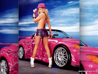 Car girl wallpaper desktop