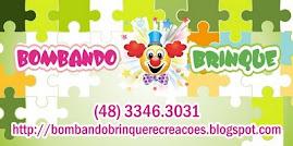 BOMBANDO BRINQUE LOCAÇÃO DE BRINQUEDOS E MONITORES