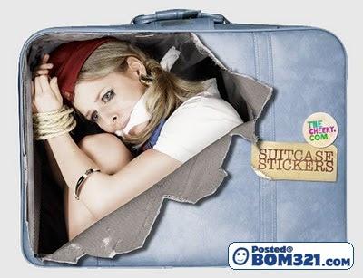 Sticker Menarik Untuk Beg Bagasi