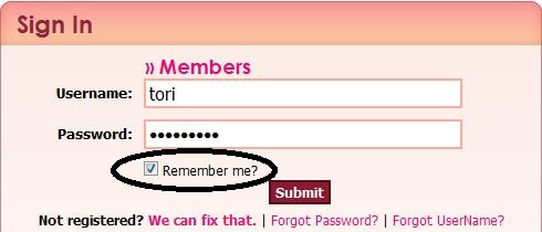 how to get facebook to remember your login