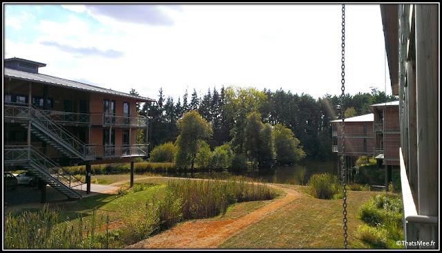 Spa Cicé Blossac appartements pilotis golf 18 trous Bretagne construction ecologiques eco lodge