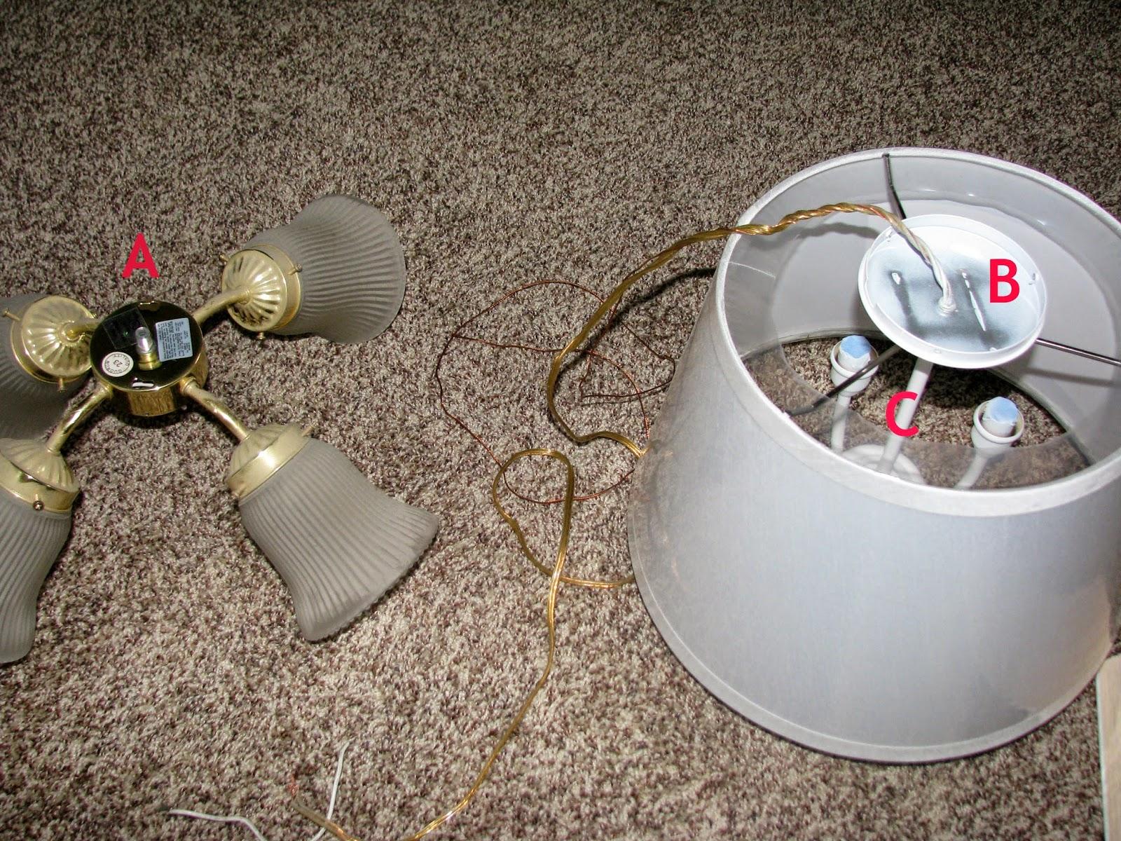 My So Called DIY Blog Refab a Ceiling Fan