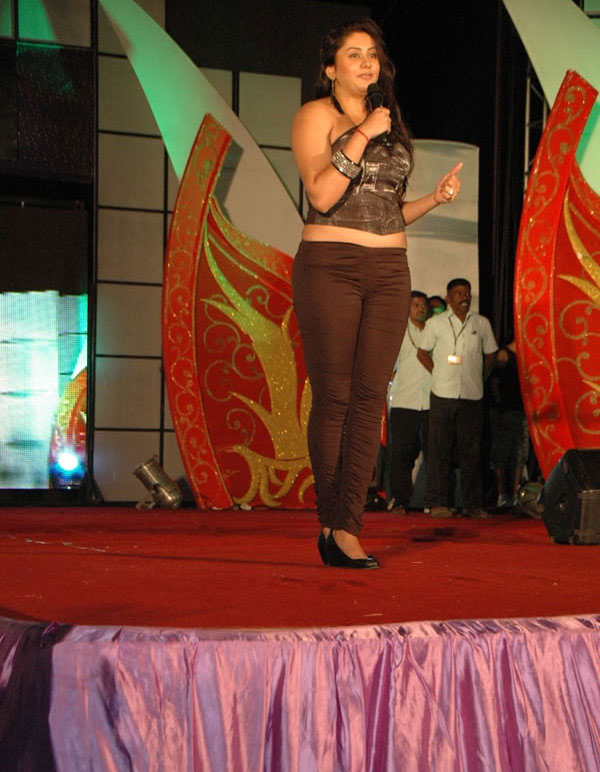 Namitha at Jeppiaar College Event Stills