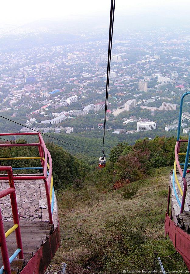 Канатная дорога на горе Машук в Пятигорске