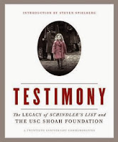 Cover of Testimony: The Legacy of Schindeler's List and the USC Shoah Foundation