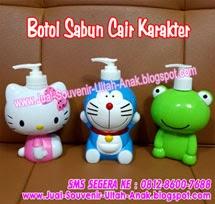 KLIK GAMBAR INI UNTUK DETAIL >> Botol Sabun Mandi Cair KARAKTER...