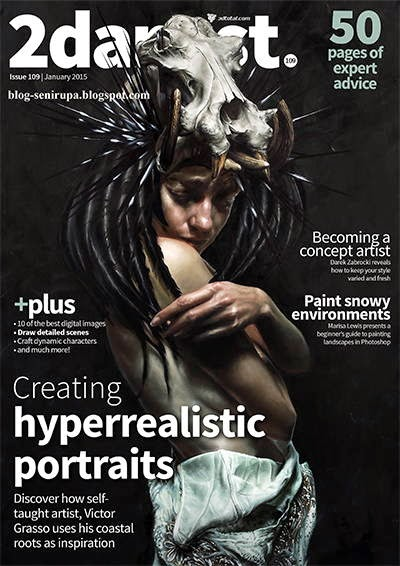 2D Artist Magazine Issue 109 January 2015