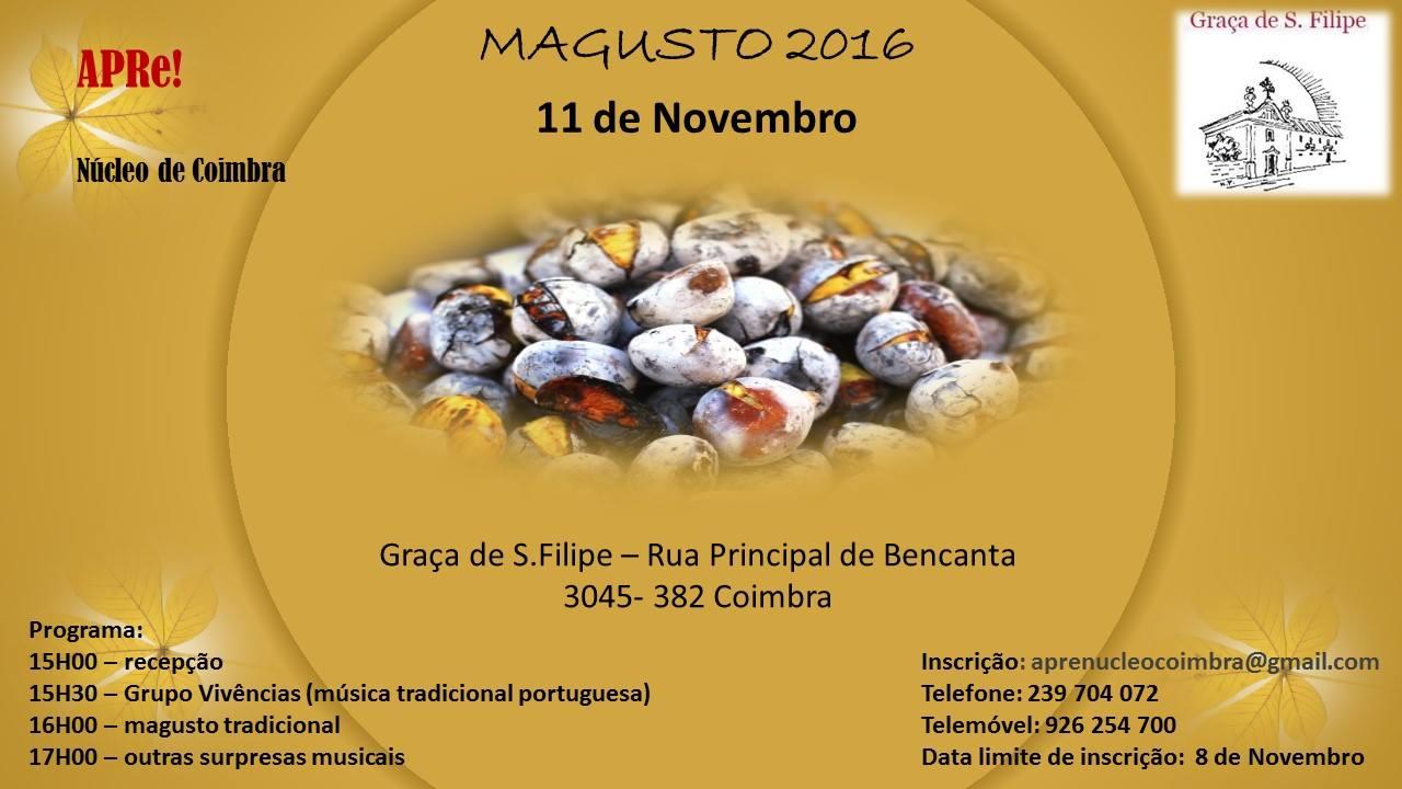 Núcleo APRe! de Coimbra celebra o S. Martinho.