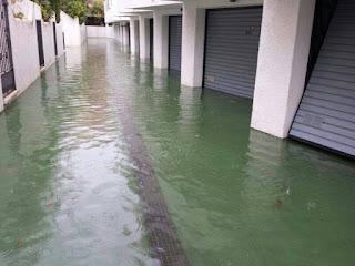 Bombeos de agua en Chiclana