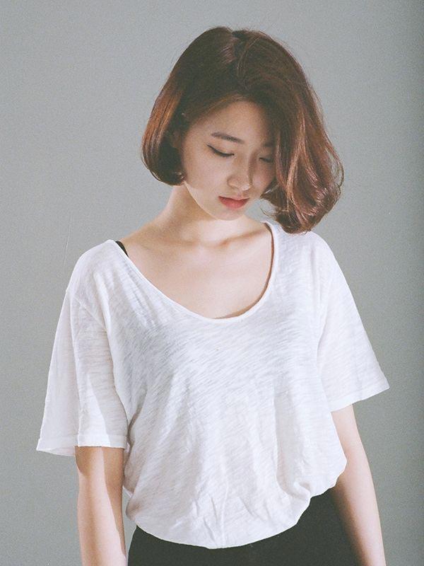 Korean Short Bob Hairstyles photo