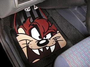 Tapete de desenhos personalizado para carro