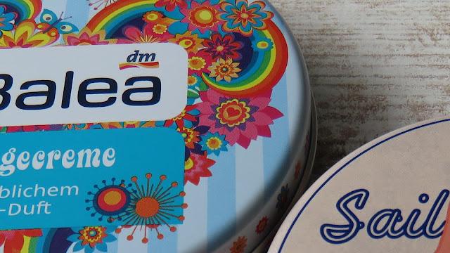 Univerzálny krém Balea s vôňou malín a kvetín