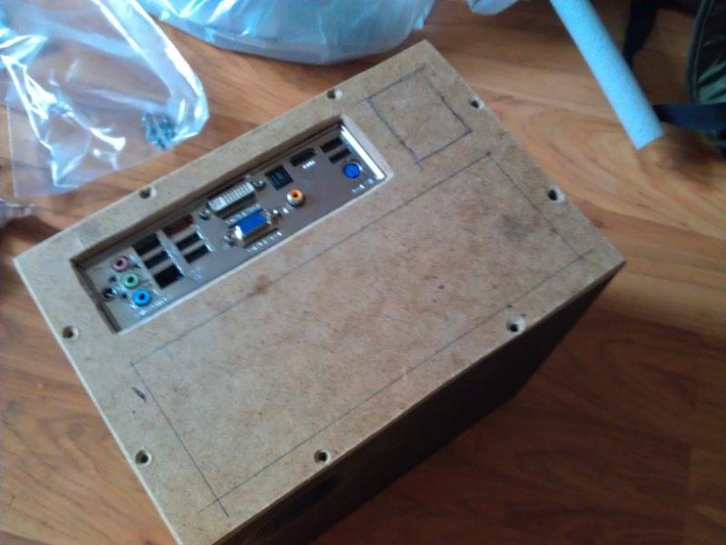 Корпус для домашнего сервера