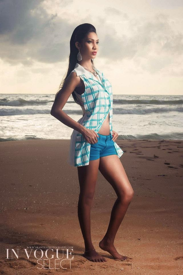 Ishanka De Alwis beach shoot