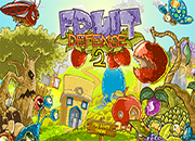 juego PVZ Fruit Defense 2