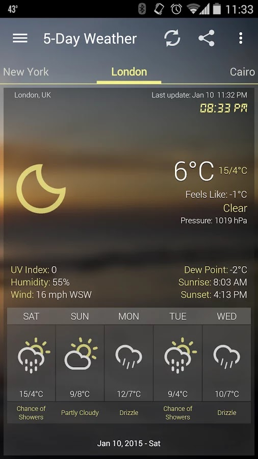 Weather & Clock Widget Ad Free v2.5.0
